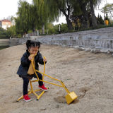 Portable Toys Swivel Sand Digger Riding Push Toy