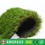 Dark Brown Curly Yarn Landscaping Grass