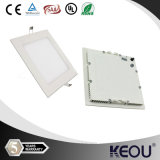White/Silver Housing Square LED Ceiling Light 18W 8 Inch 8""