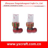Christmas Decoration (ZY15Y167-1-2) Christmas Boot Promotional Gift