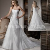 2012 Elegant Wedding Dress (WZS171)
