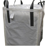 White Color 100% Virgin PP Bulk Bag Export to Poland