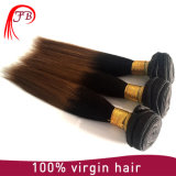 Malaysian Human Hair Kinky Straight Hair Two Tone Hair Extension