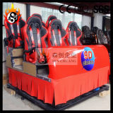 5D/9d Cinema with 6 Hydraulic Seats with Specail Effects System (SCH-1051)