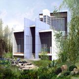 Steel Structure Villa Prefab Building--Pj004
