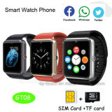 2017 Hot Selling High Quality Wholesale Fashion Design Smart Watch with Bluetooth