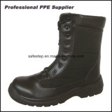 Best Selling High Cut Smooth Action Leather Safety Military Boot