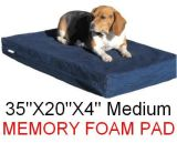 Best Support Comfort Orthopedic Memory Foam Pet Dog Bed