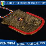 Custom Die Casting Hockey Sport Award Menmorable Medals Metal