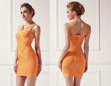 Ladies Slim Bandage Dress with Close-Fitting Dress