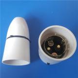 E27/B22 White Color Bakelite Lamp Holder (L-063)