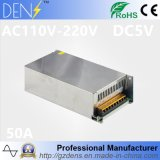 LED Project AC110-220V to DC5V 50A Power Source