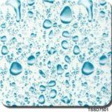 Tsautop Hot Selling 0.5m/1m Width Water Drop Metal Brush Water Transfer Printing Films Hydrographic Film Aqua Print Tssd7501