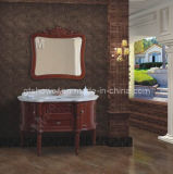 Wood Bathroom Vanity Cabinet/Bath Furniture (GD98825)