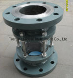 Float Sight Glass/Flushing Port Flanged Rotate Wiper Sight Glass