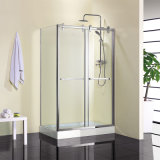 Rectangular Corner Shower Room Tempered Glass Shower Enclosure