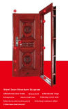 Steel Door Security Door Exterior Home Door (HT-39)