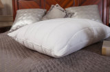 White Cotton Fabric Coverd Filling Down Pillow
