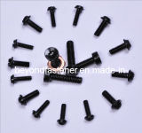 Machine Screw, Black Coating Cheese Head Machine Screw