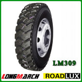 385/65r22.5 China Top Quality All Steel Radial Longmarch M+S Tyre
