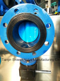 Gearbox Operate Double Flanged Butterfly Valve