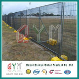 Temporary Construction Fence / Safety Crowd Control Police Barrier