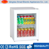 48L Mini Portable Glass Door Refrigerator with CE/ETL/RoHS
