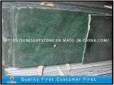 China Dark Green Marble Slabs for Bathroom Floor Tiles, Vanity Tops