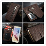 2 in 1 Leather Case Crocodile for Samsung Galaxy S6