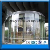 6mm Clear or Tinted Safety Tempered Laminated Glass for Commercial Buildings on Hot Sale