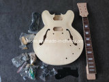 Semi Hollow Body Single Binding Lp Jazz 335 Electric Guitar Kit