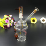 Mini Oil Rig Glass Water Pipe Glass with 14mm Male Joint Glass pipe