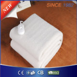 Portable Synthetic Wool Fleece Electric Blanket with GS Certification