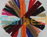 Colorful Nylon Zipper for Garments