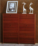 Natural Wooden Shoe Cabinet