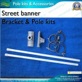 Aluminum Street Banner Bracket and Pole for Street Banner (*NF23M03013)