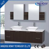 High Quality Melamine Bathroom Double Sink Vanity with Mirror