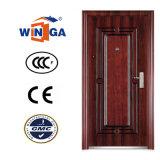Nigera Style Popular Security Iron Metal Exterior Steel Door (W-S-127)