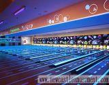Bowling Lane / Fluorescent Overlay Bowling