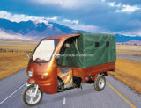 150cc Passenger Tricycle with Canvas Cover and Seat (TR-17)