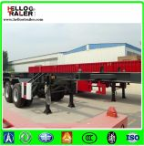2 Axles 20FT 40FT Frame Skeleton Container Semi Trailer Chassis