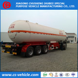 Nigeria 3 Axle 50000L LPG Transport Trailer 50000liters LPG Tank Trailer