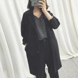 New Fashion Style Crepe Dolman Women Jacket Coat