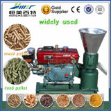 Mini High Quality Corn Straw Stalk Tree Leaves Pellet Fuel Machine