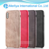 Deluxe Ultra-Thin Shockproof Leather Case for iPhone X