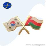 Customize World National Friendship Cross Metal Flag Pin (FTFP1625A)