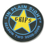 Round Shape Military Army Embroidery Patch