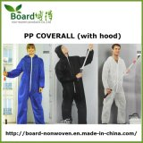 Disposable PP Non-Woven Coverall with Hood, Paint Coverall