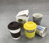 BSCI Audit Eco-Friendly Bamboo Fiber Cup with Printed (YK-BC4084)