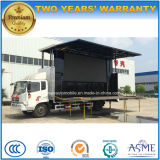 Hot Sale Movable Stage Performing Truck with Promotion LED Screen